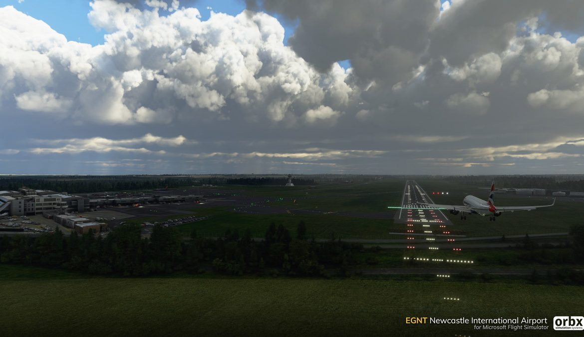 EGNT Newcastle Airport MSFS 8