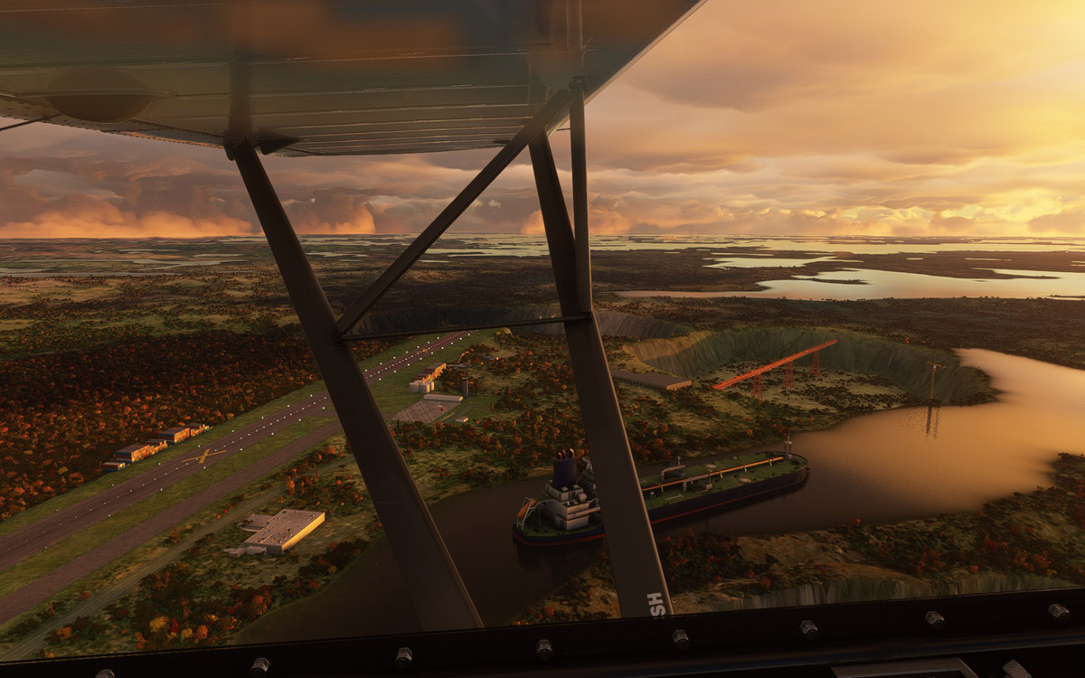 Meadowbank-Gold-Mine-airfield-msfs