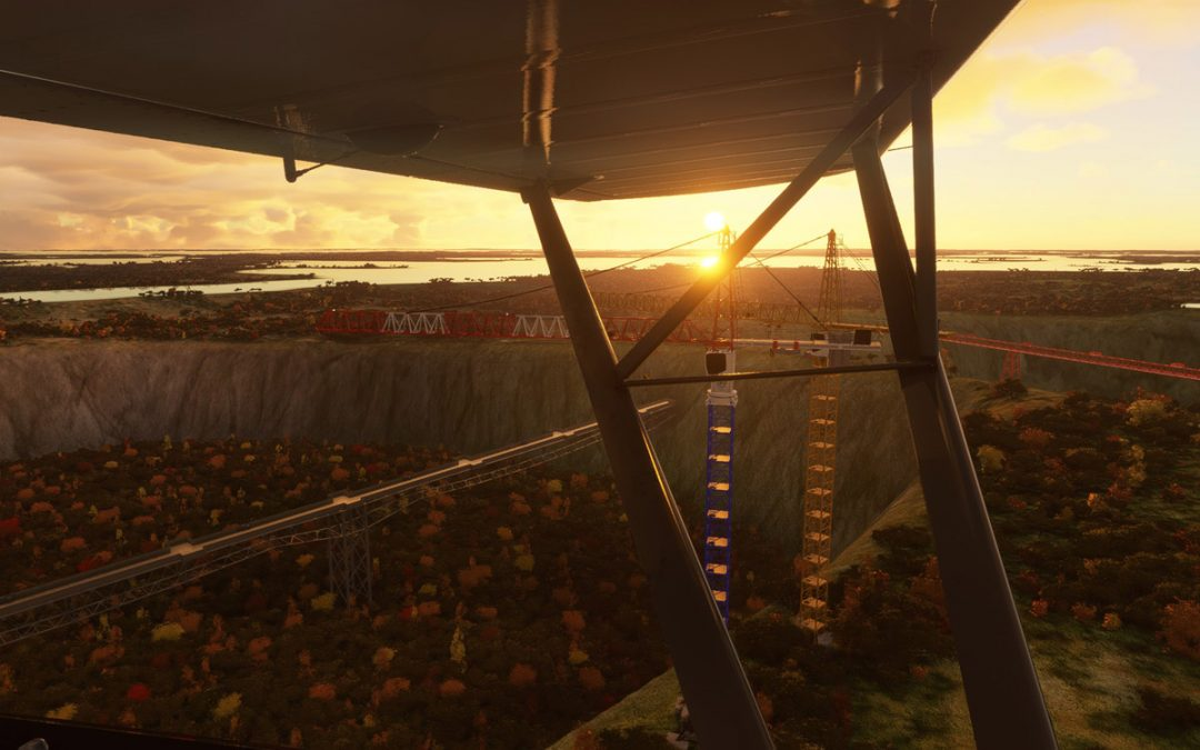 Meadowbank Gold Mine and Airfield for Flight Simulator