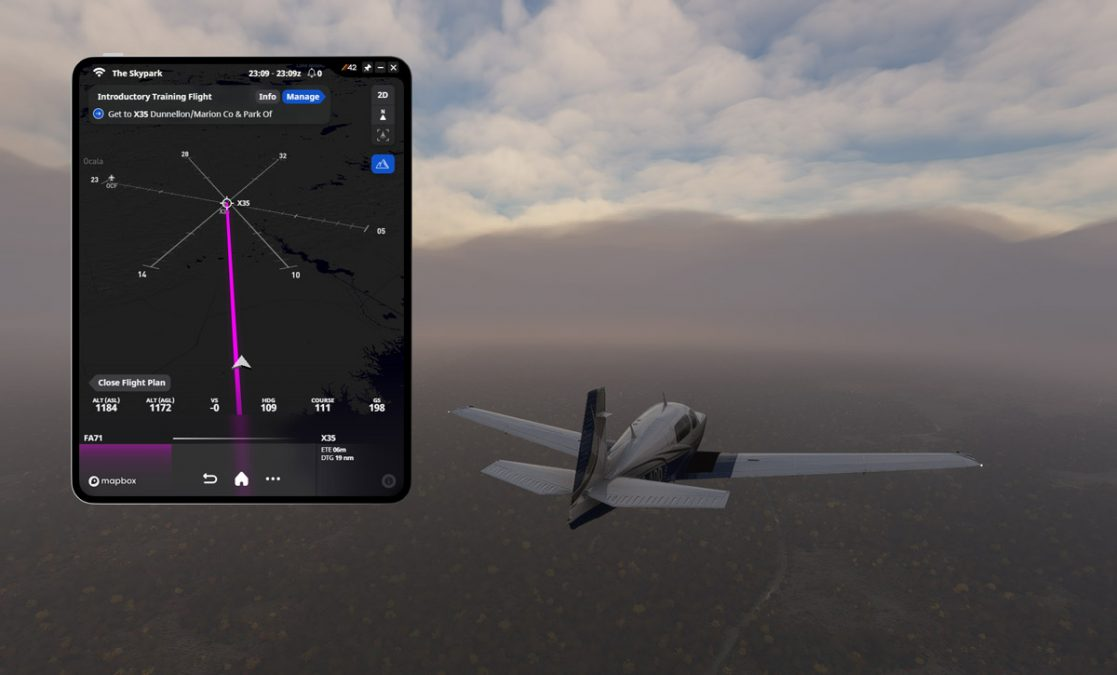 "An early look into 'The Skypark', a promising ""career mode"" add-on for Flight Simulator"