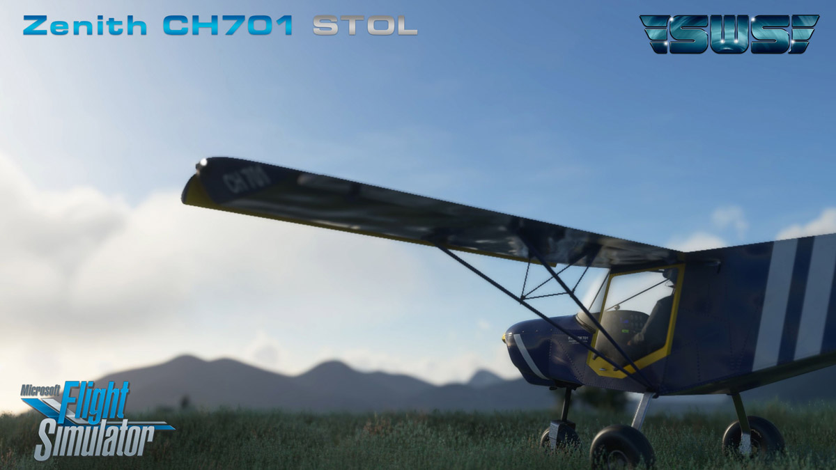 SimWorks releases Zenith CH701 STOL aircraft