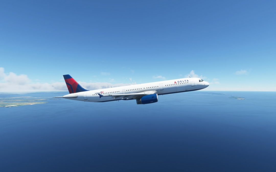 Freeware Airbus A321-200 for MSFS released by Project Mega Pack