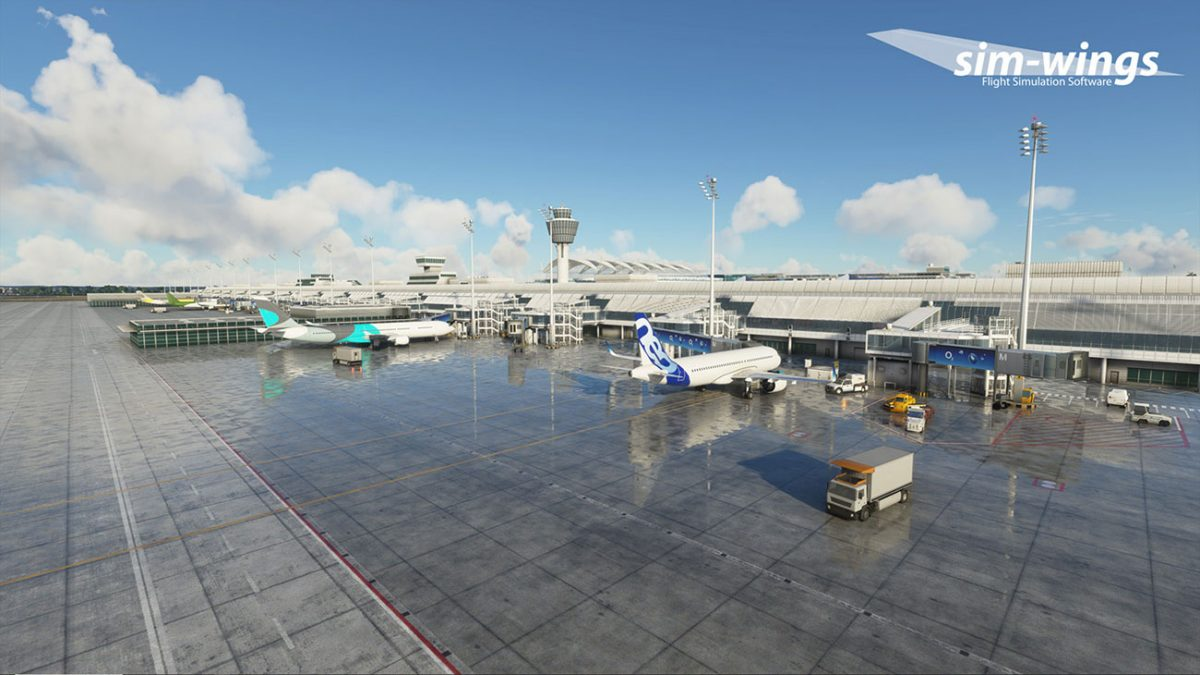 sim-wings releases Munich Airport for MSFS
