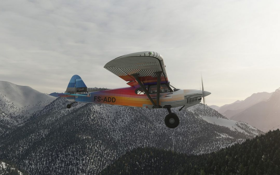 Get this gorgeous XCub livery inspired by Felipe Pantone's INTR3P1D design