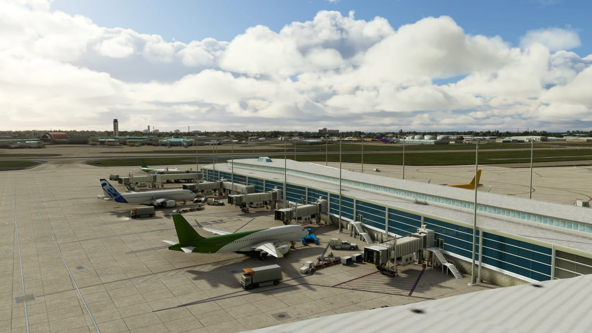 LatinVFR releases New Orleans International Airport (KMSY) for MSFS