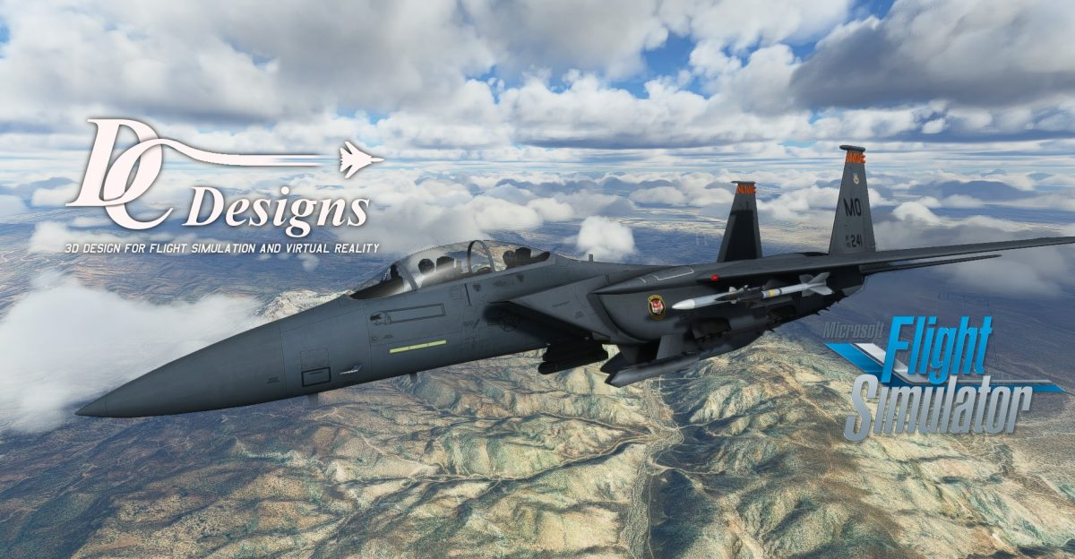 DC Designs F-15 now available for MSFS!