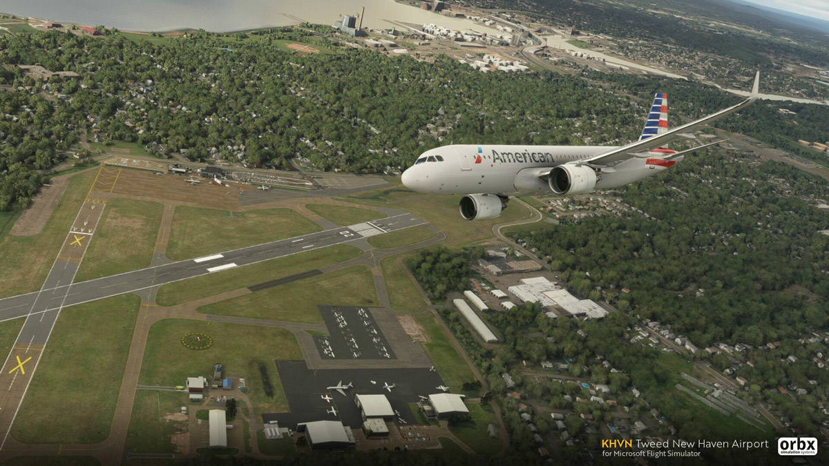 Orbx releases KHVN Tweed New Haven Airport for MSFS