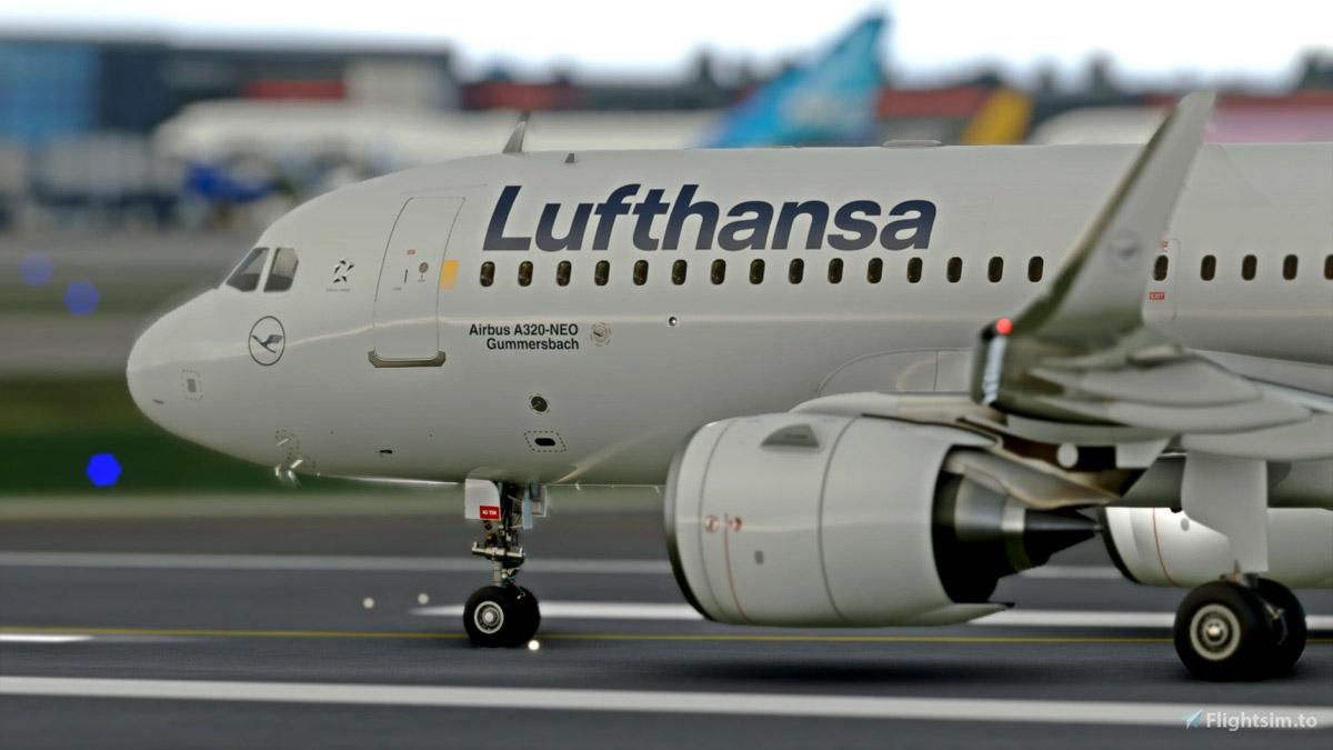 Lufthansa Livery MSFS Flight SImulator