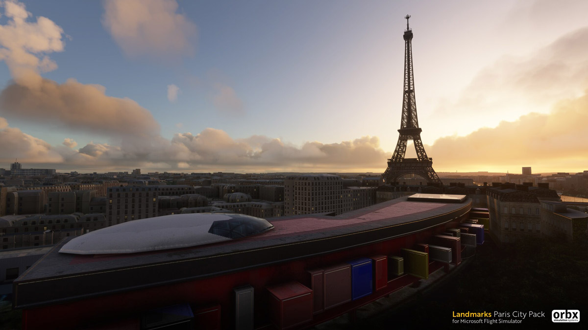 Orbx releases Landmarks Paris for Microsoft Flight Simulator