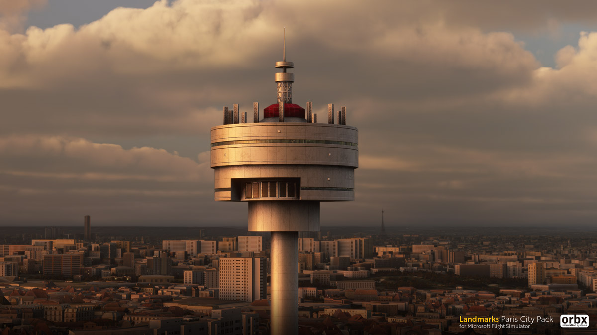 Orbx Paris Landmarks MSFS tower