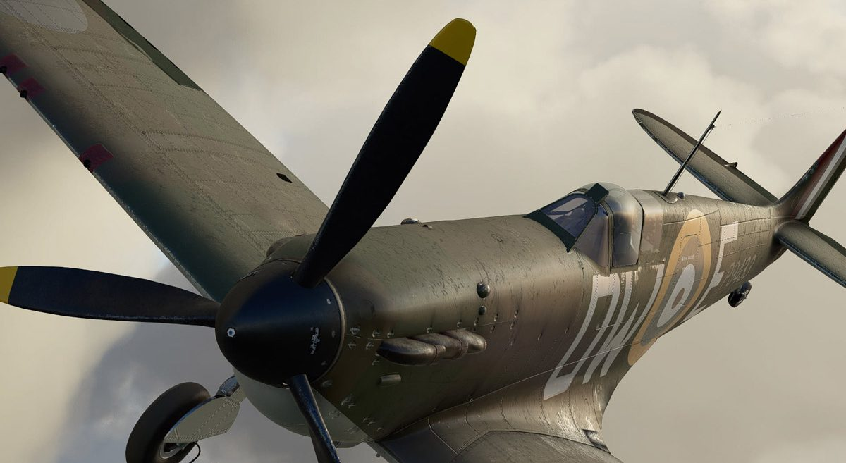 The Spitfire is alive: coming soon to MSFS, by Aeroplane Heaven