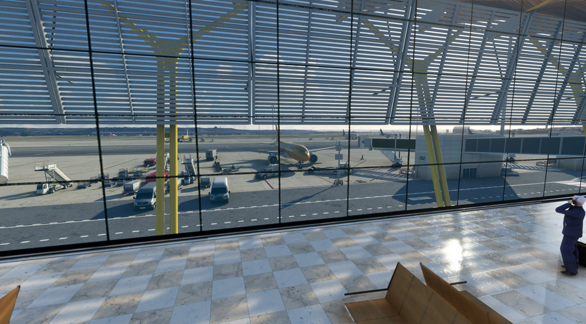 Barajas Airport MSFS 1