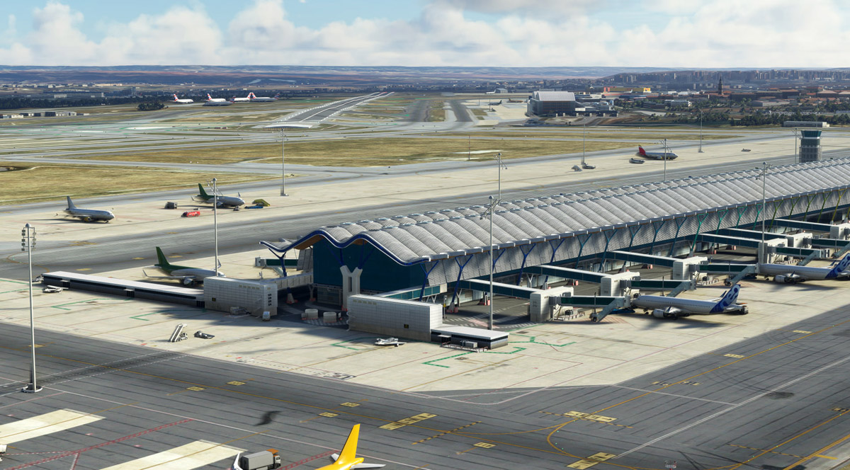 (Update: released!) Madrid's Barajas Airport coming to MSFS, by LatinVFR