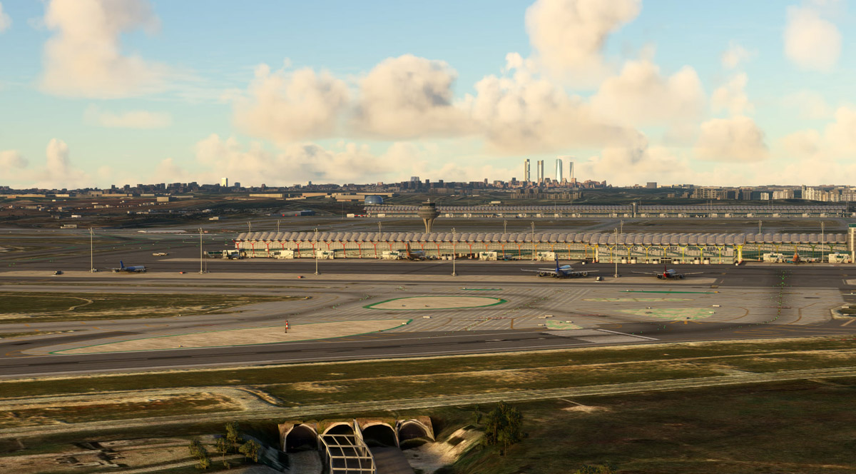 Barajas Airport MSFS 8