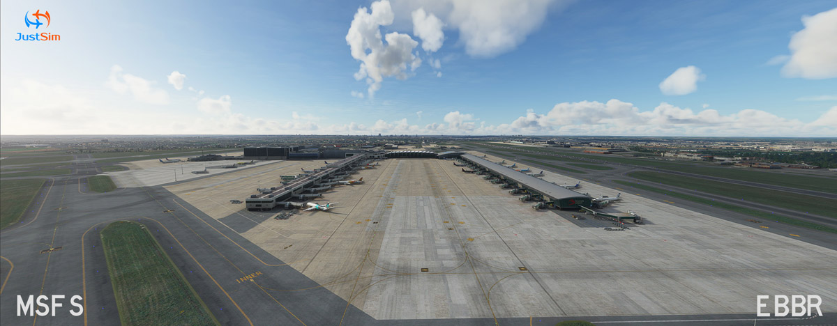 Brussels Airport MSFS 1