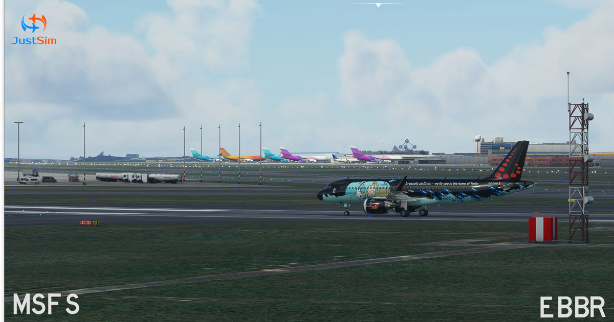 Brussels Airport MSFS 2