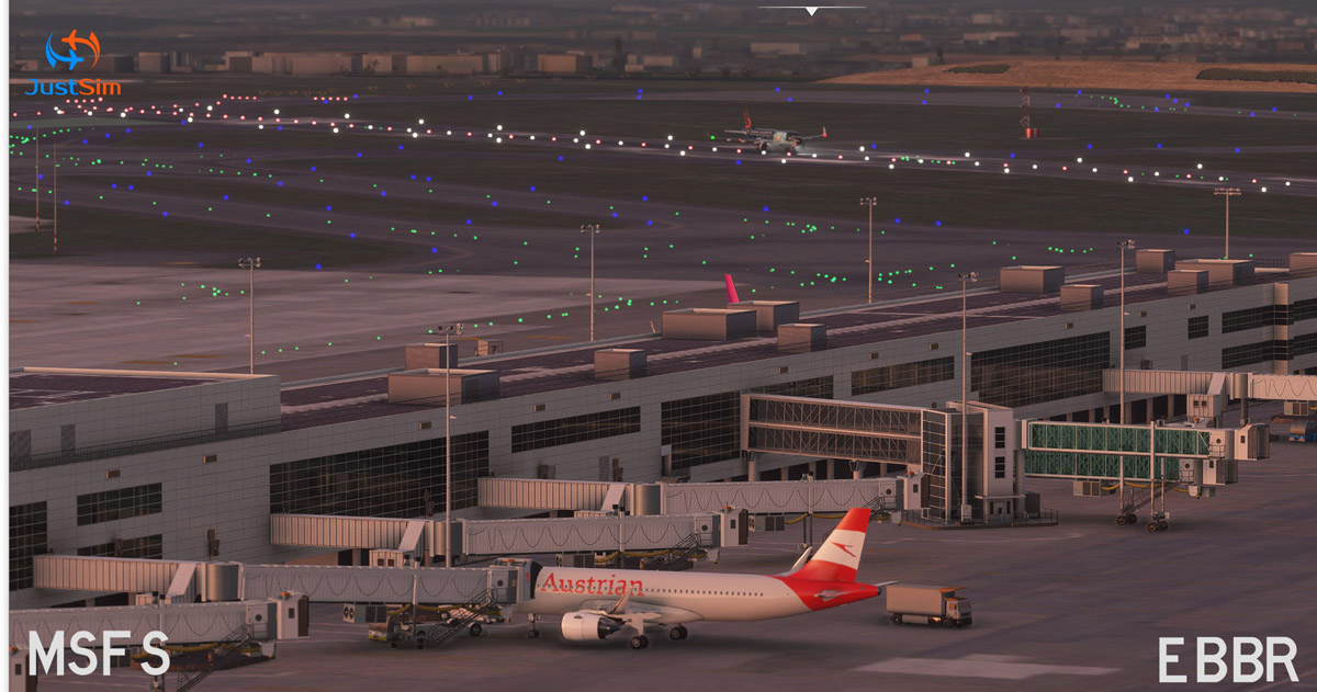 Brussels Airport MSFS 3