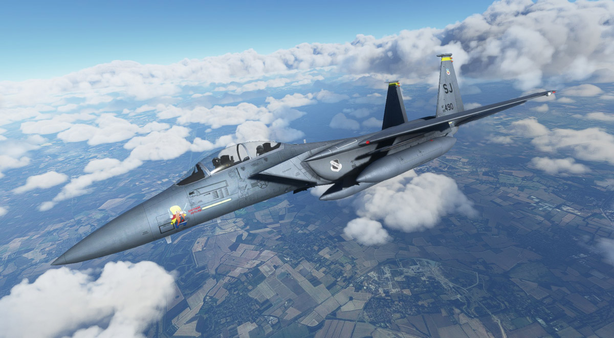 DC Designs' F-15 Eagle receives a massive update with numerous fixes, improved sounds, and more
