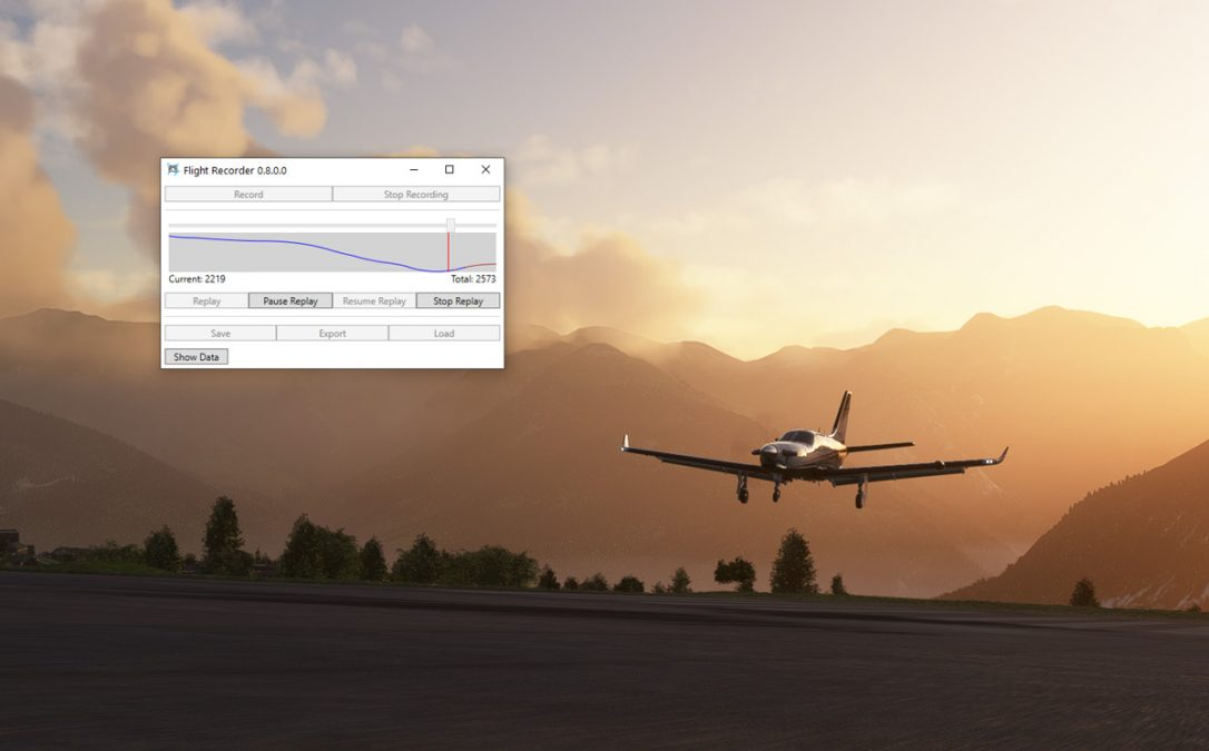 'Flight Recorder' – a quick, easy and free way to record and replay your flights in MSFS
