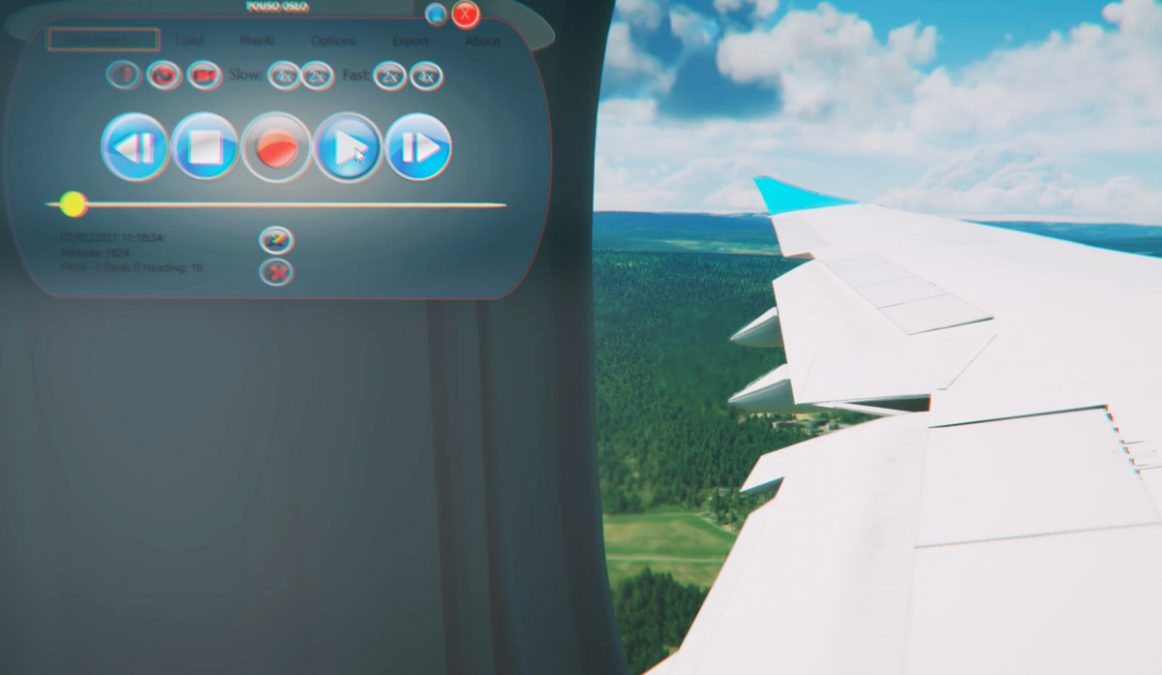 You can finally replay your flights in MSFS thanks to FlightControlReplay, now available!