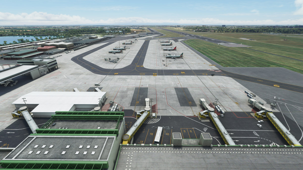 Milano Linate Airport released by Jetstream Designs