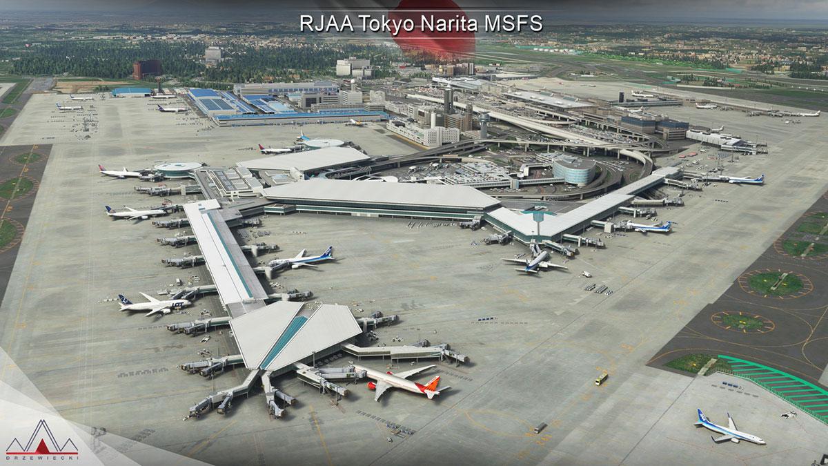 Narita Airport MSFS 5