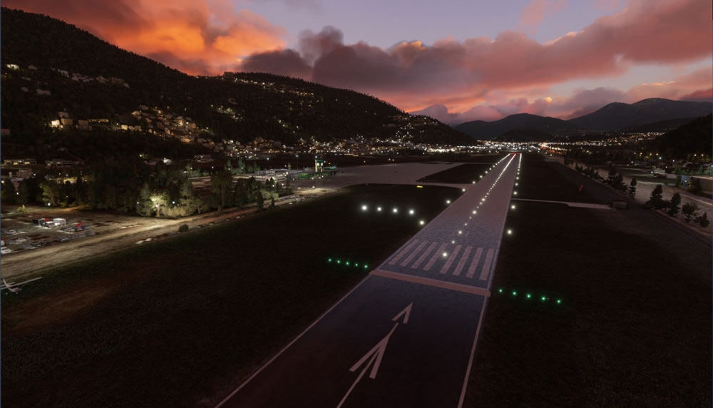 Lugano Airport released for MSFS by FlyLogic
