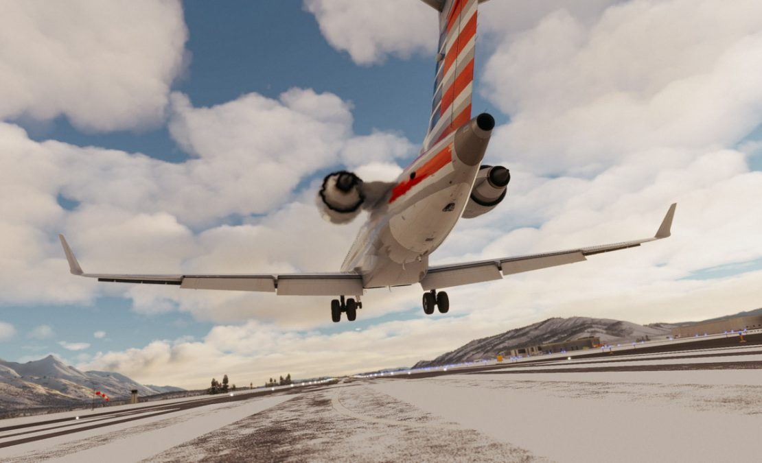 Aerosoft issues first update for the CRJ in Flight Simulator
