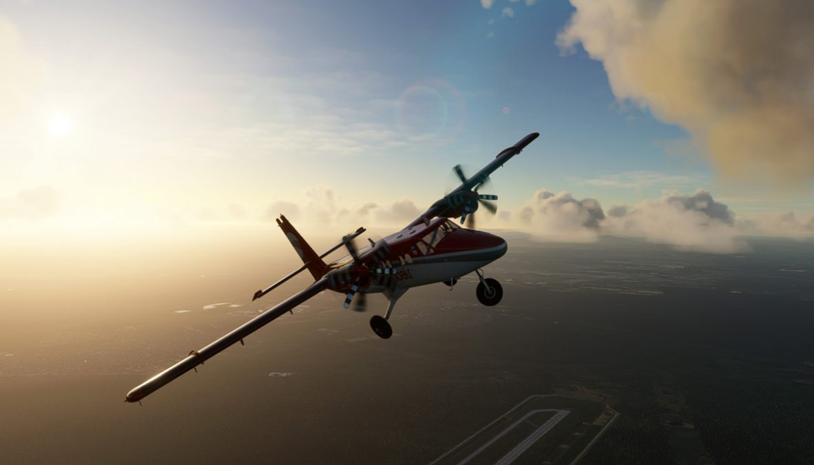 New images of Aerosoft's Twin Otter for MSFS, release expected later this year