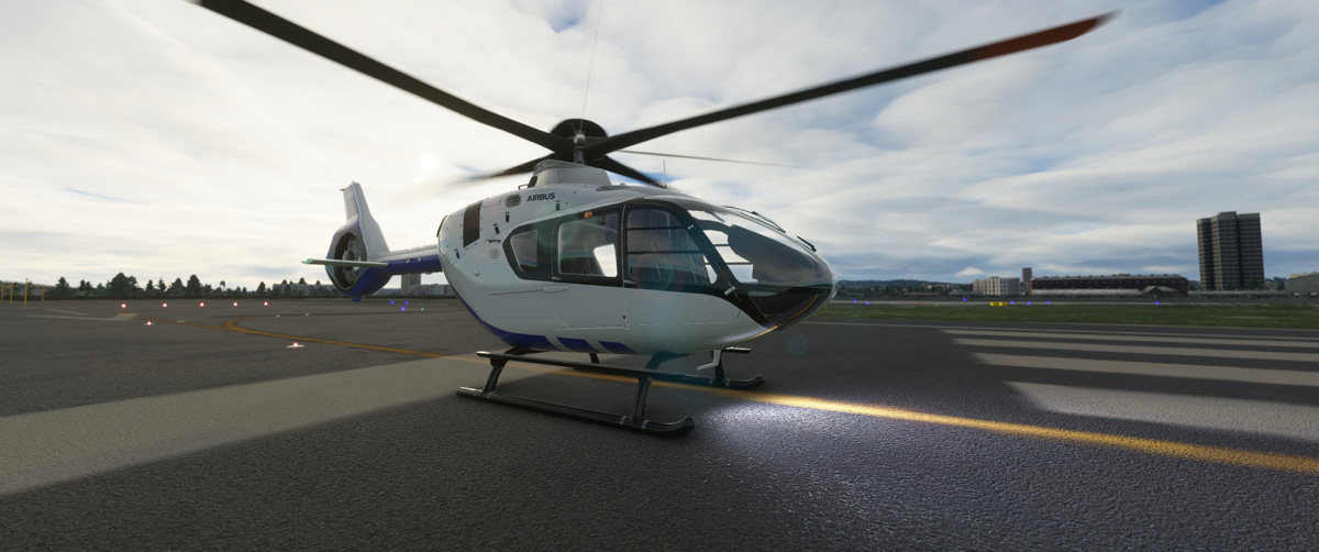Airbus H135 helicopter MSFS Flight Simulator 1