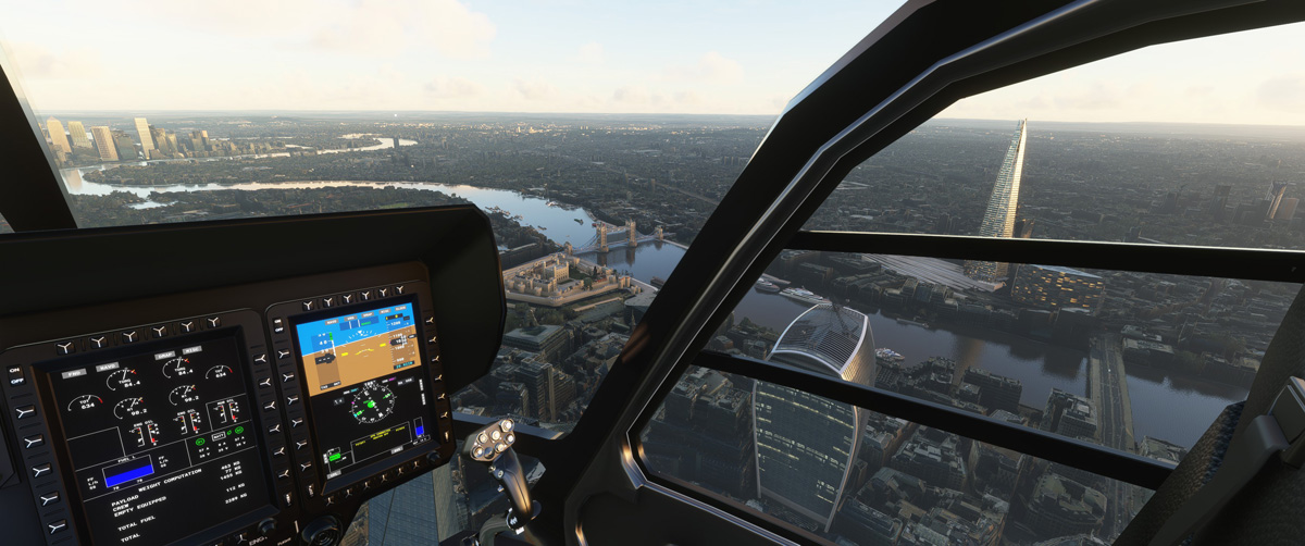 Airbus H135 helicopter MSFS Flight Simulator 13