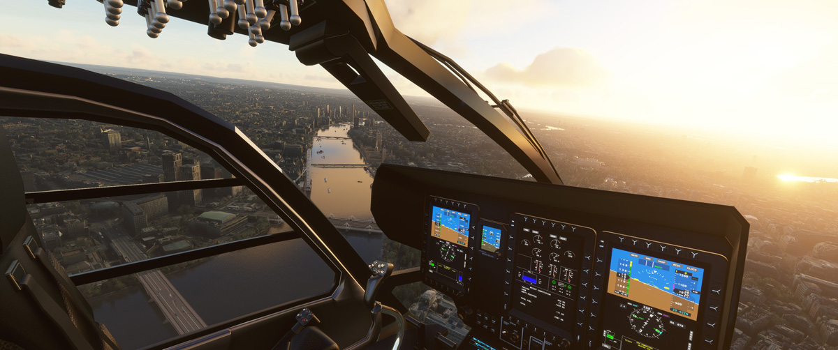 Airbus H135 helicopter MSFS Flight Simulator 14