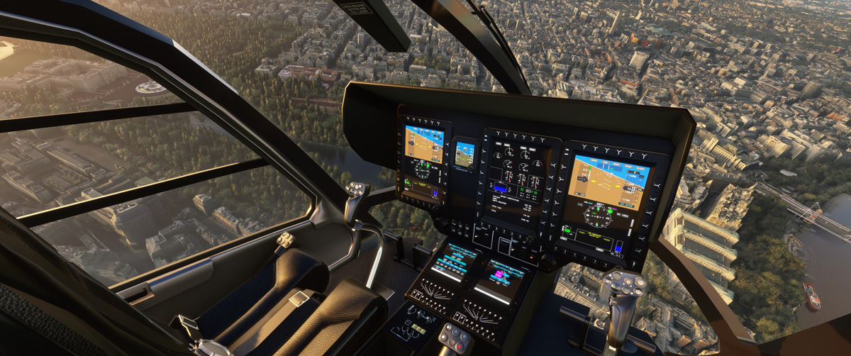 Airbus H135 helicopter MSFS Flight Simulator 16