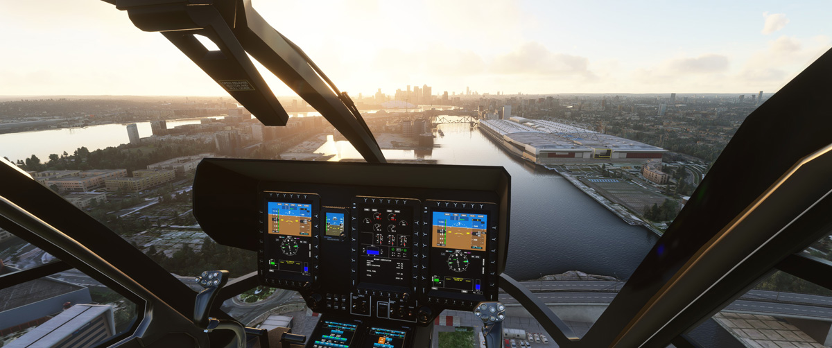 Airbus H135 helicopter MSFS Flight Simulator 2