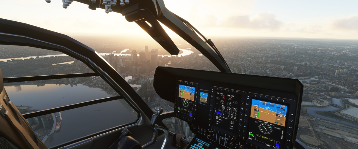 Airbus H135 helicopter MSFS Flight Simulator 5