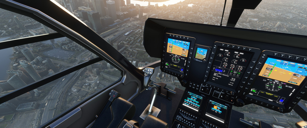 Airbus H135 helicopter MSFS Flight Simulator 6