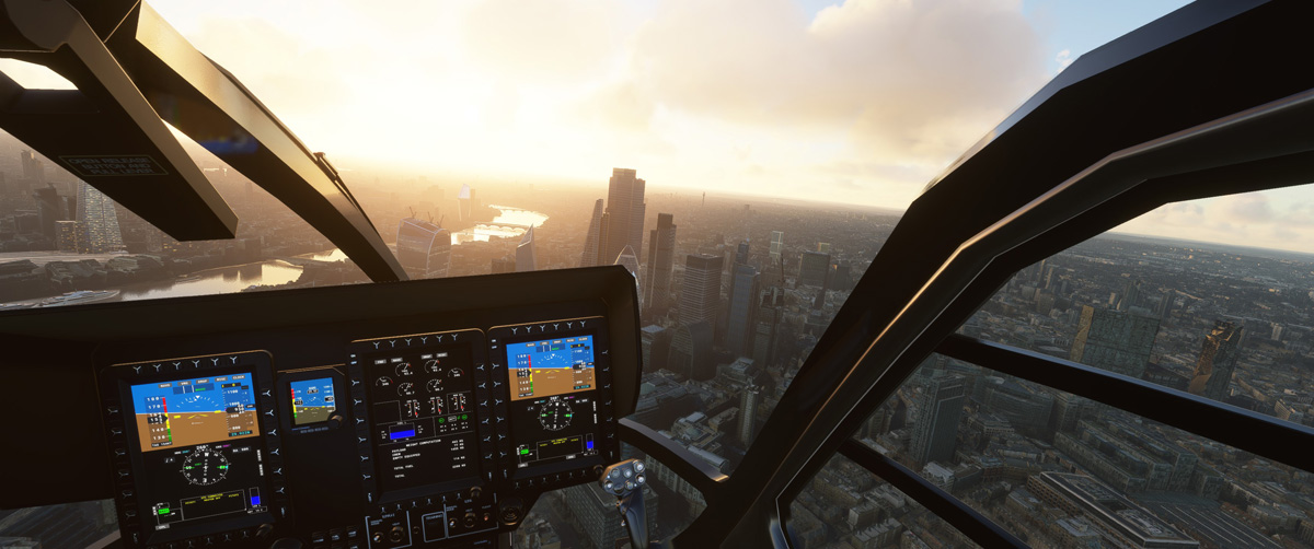 Airbus H135 helicopter MSFS Flight Simulator 7