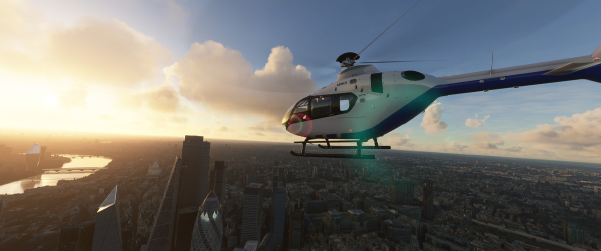 Airbus H135 helicopter MSFS Flight Simulator 8