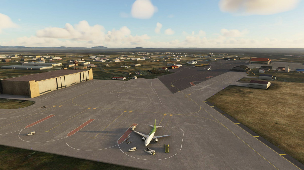 Visit Iceland's Keflavík International Airport with the latest release by MK-STUDIOS