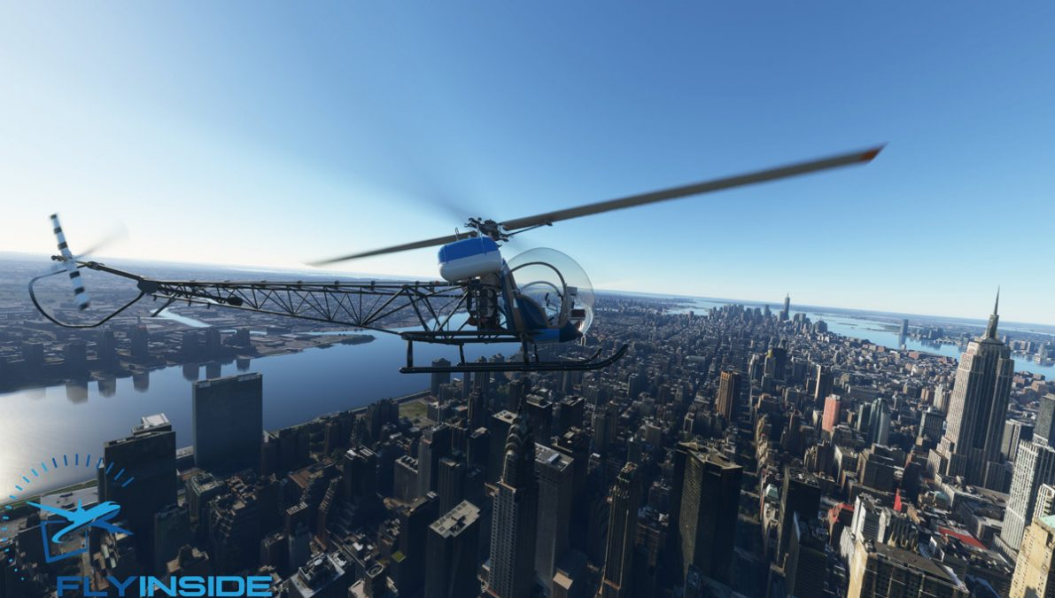Helicopters are getting popular in Flight Simulator: Bell B47G announced by FlyInside