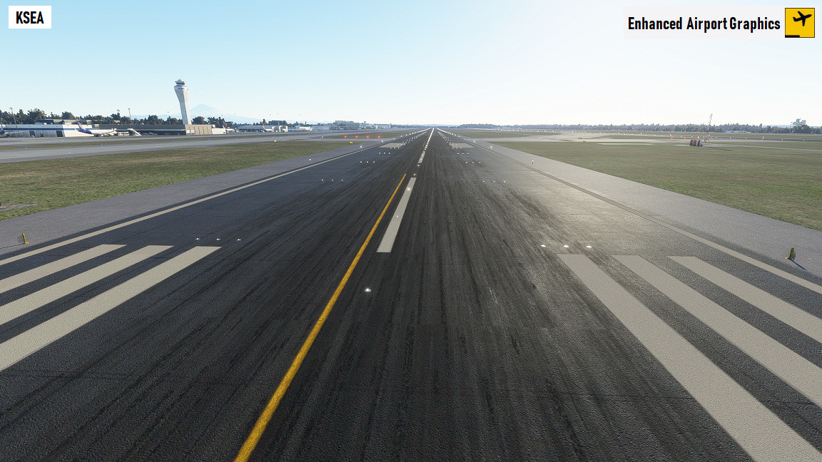 Enhanced airport textures MSFS 1