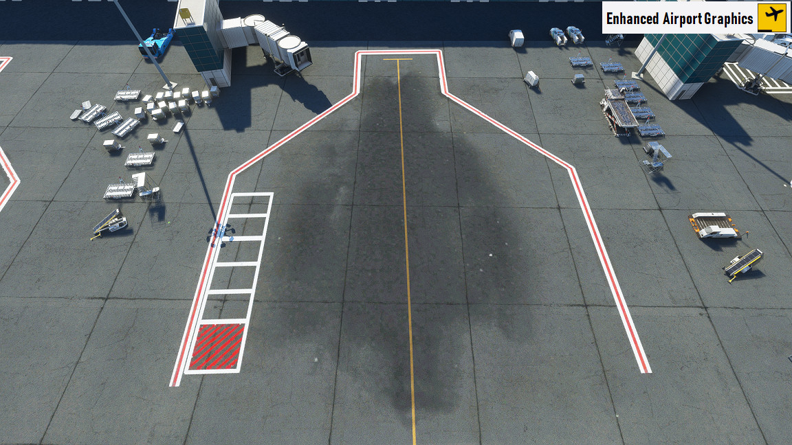 Enhanced airport textures MSFS 2