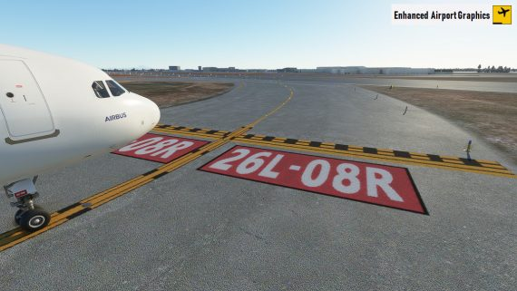 Enhanced airport textures MSFS 3