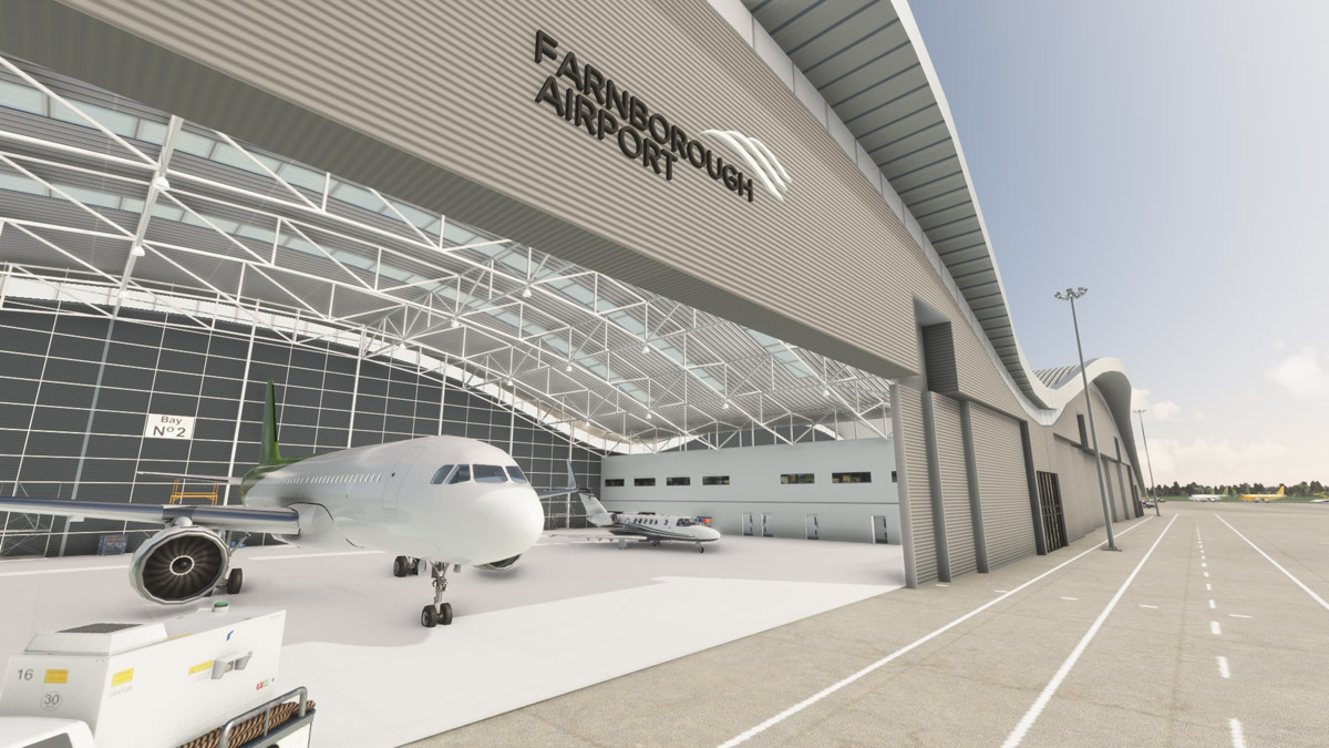 Burning Blue Designs releases the legendary Farnborough Airport for MSFS
