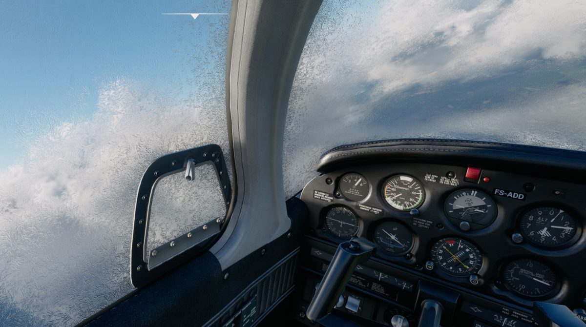 Just Flight updates the PA-28R Arrow III with icing effects, improved exterior details, and more