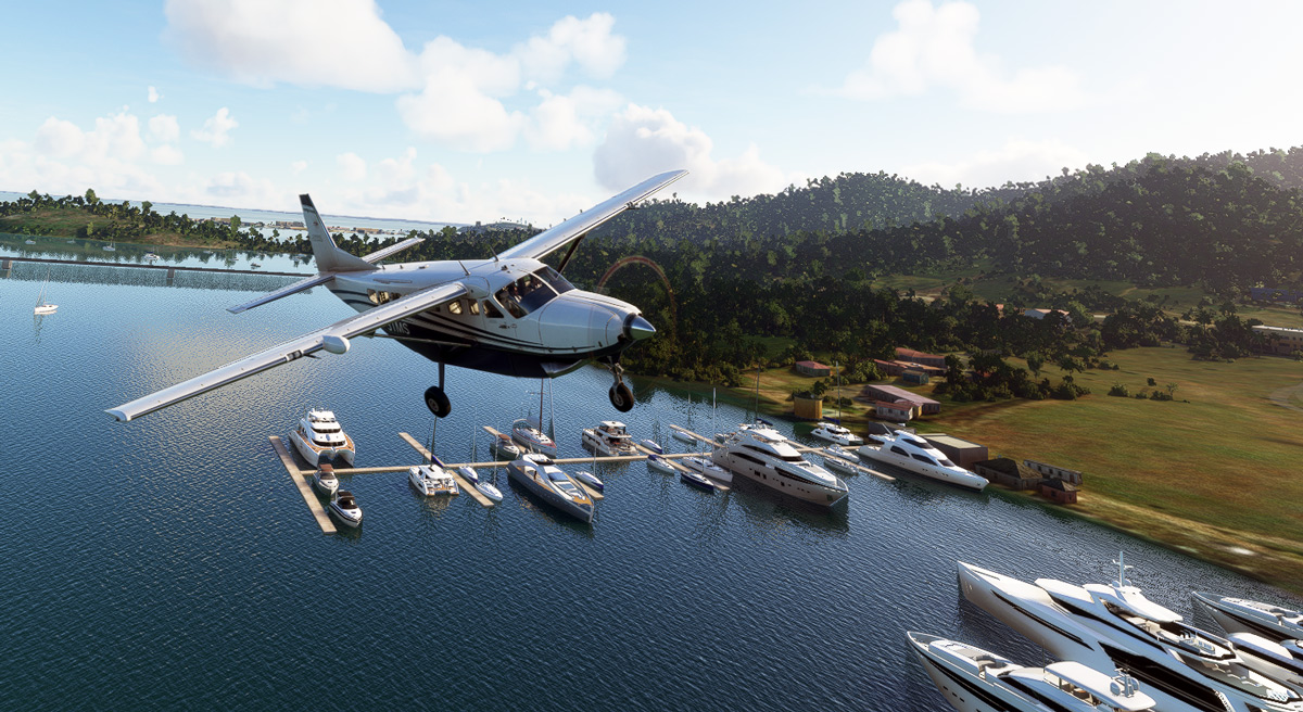Seafront Simulations is back with thousands of vessels for Anguilla, St Martin and St Barts
