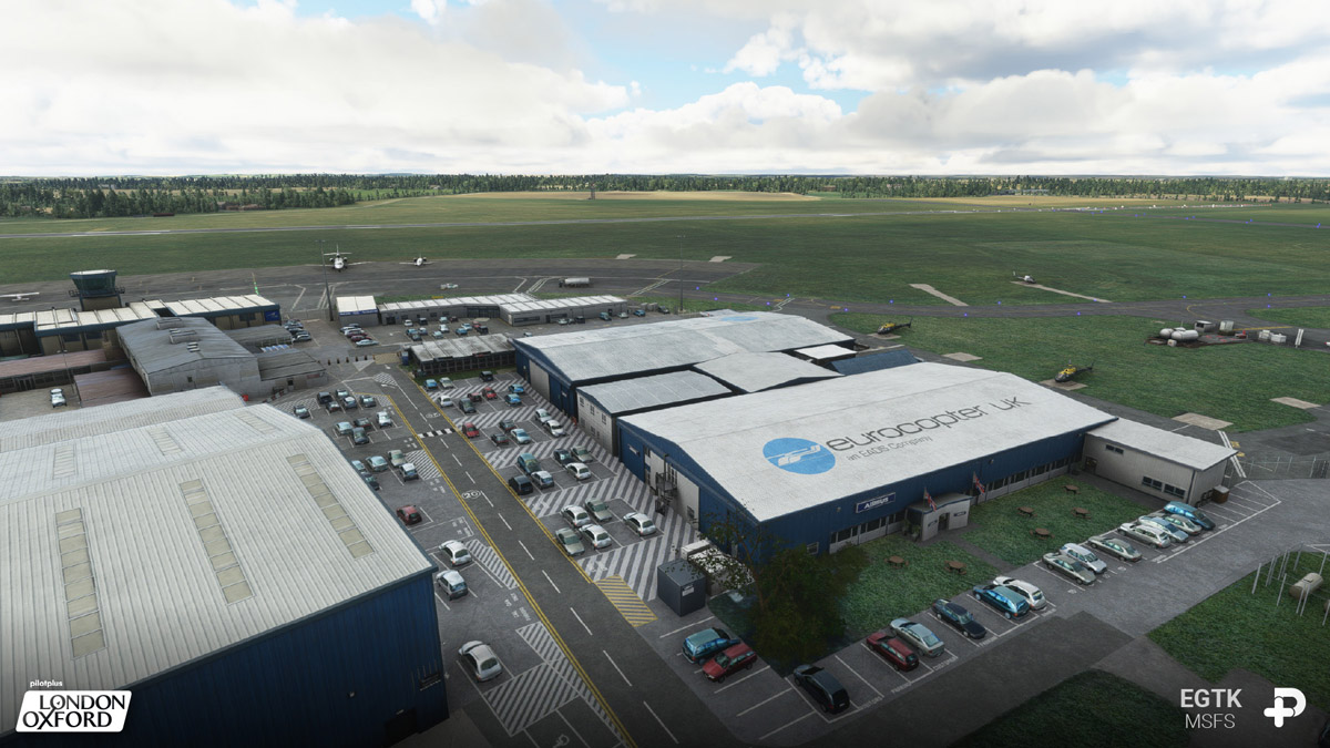 Oxford Airport MSFS 1