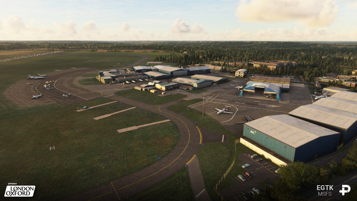 Oxford Airport MSFS 2