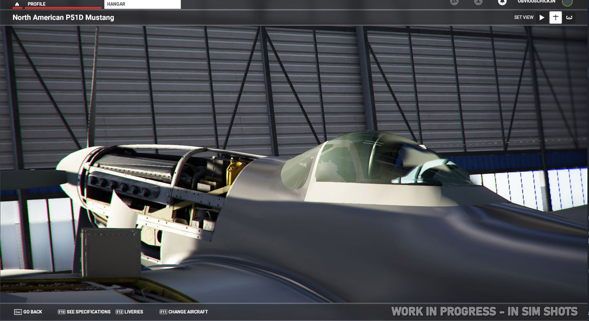 The legendary P-51D Mustang is coming to MSFS