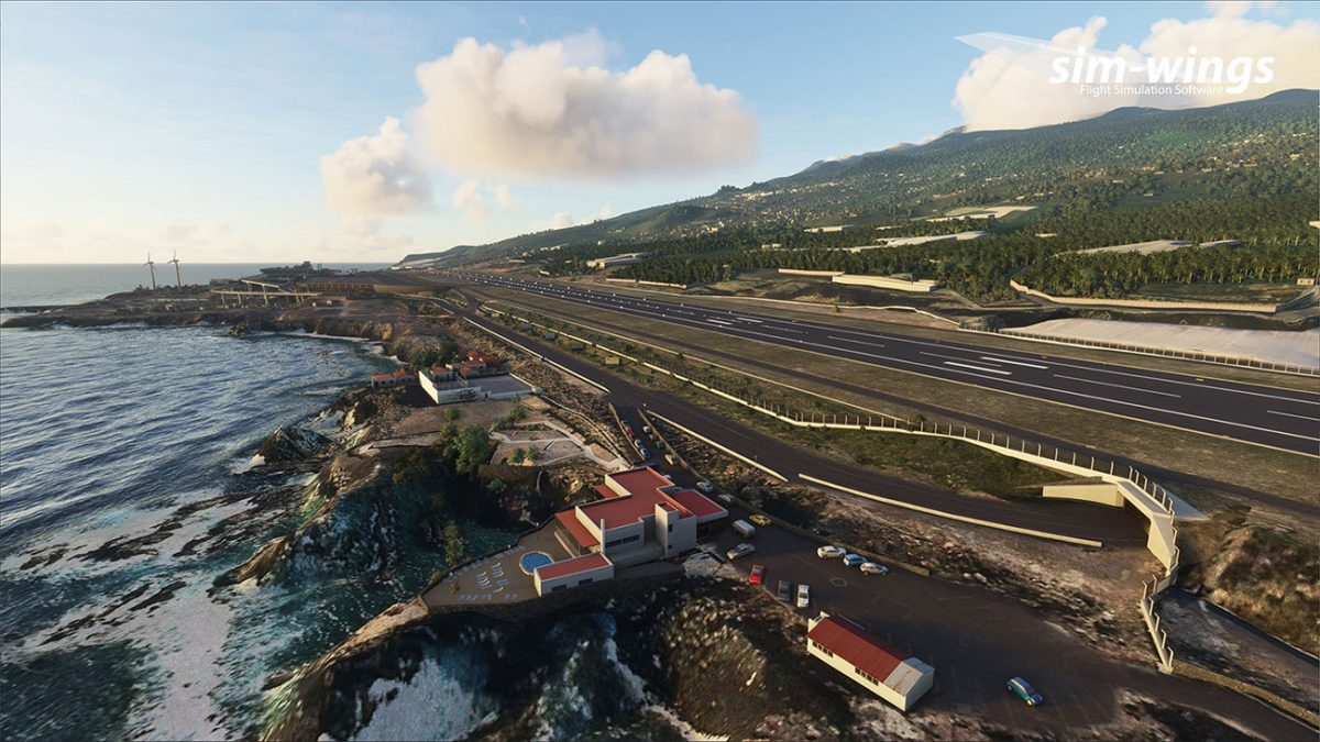 Sim-wings releases La Palma Airport for MSFS